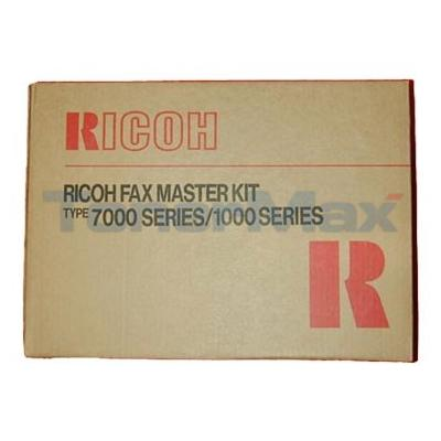 RICOH FAX 1000L MASTER KIT